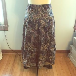 Chaps Peasant Skirt